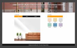 configuratore prodotti di arredamento online