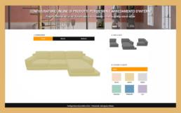 configurazione divani online